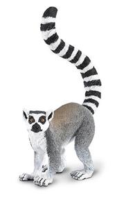 Figurina Safari, lemur cu coada inelata
