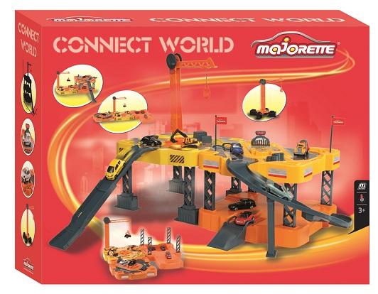 zzSet Majorette Connect World cu masinuta