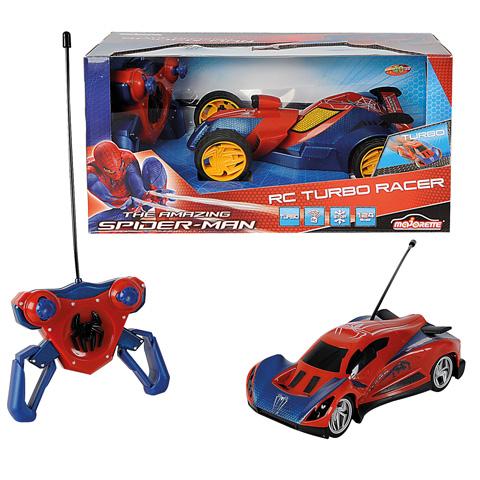 Masina Spiderman Turbo cu telecomanda