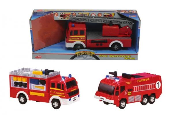 Masinuta Pompieri cu sunet si lumini
