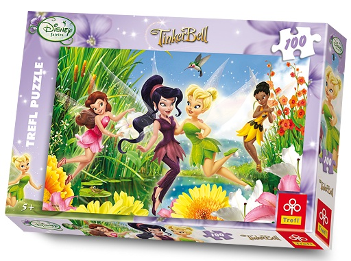 Puzzle Tinkerbell, 100 pcs