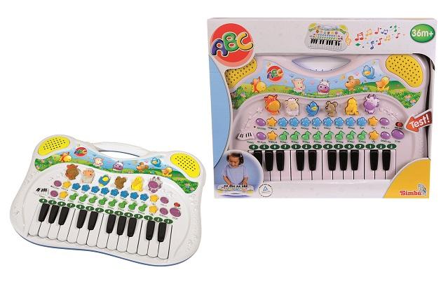 Orga muzicala cu sunete de animale