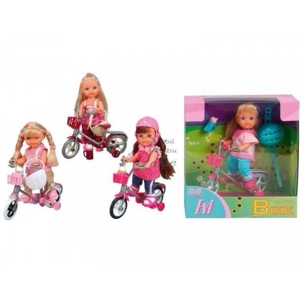 zzPapusa Hello Kitty cu bicicleta