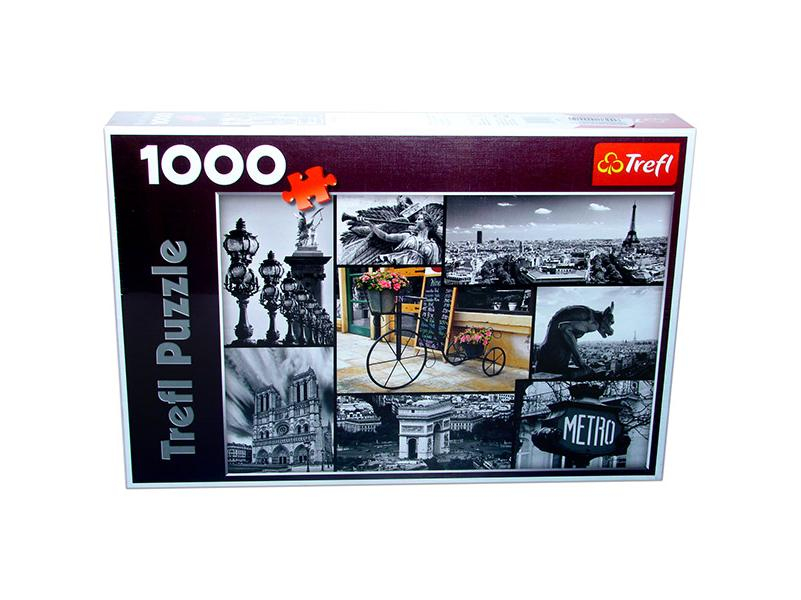 Puzzle colaj Paris, 1000 pcs