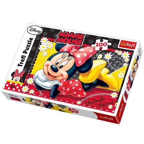 Puzzle Minnie Mouse, 100 pcs