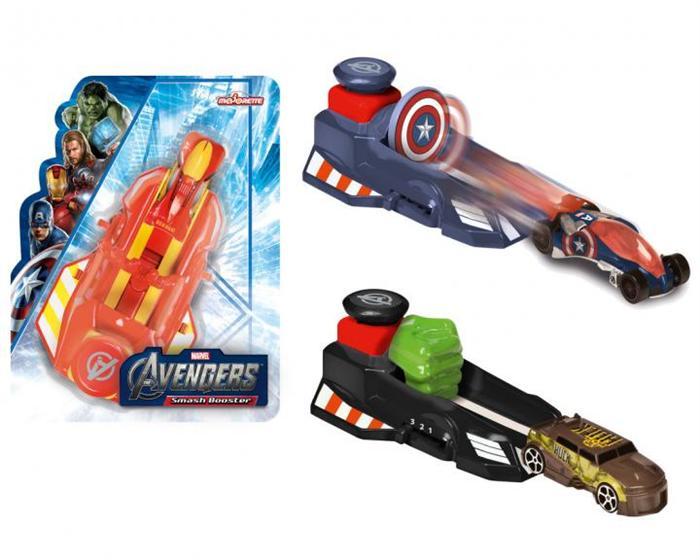 Avengers Lansator cu masinuta