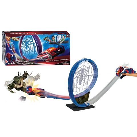 Circuit Spiderman cu masinuta
