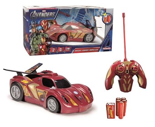 Masina Avengers Ironman cu telecomanda