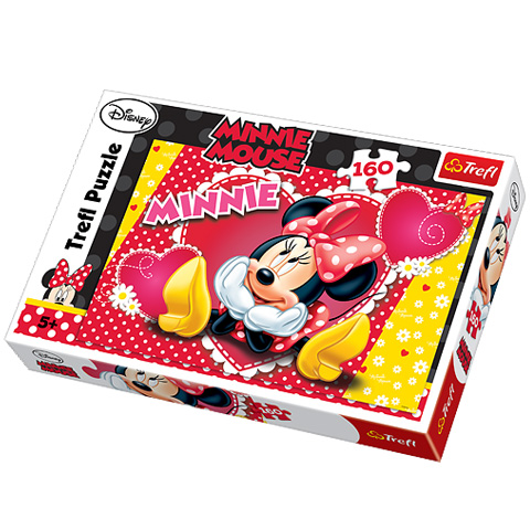 Puzzle Minnie Mouse, 160 pcs