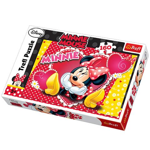 Puzzle Minnie Mouse, 160 pcs