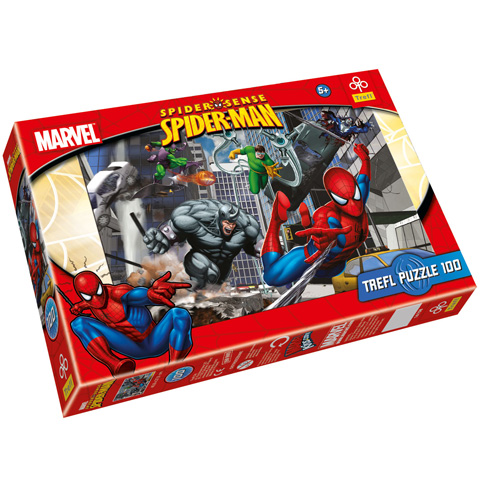 Puzzle Spiderman Marvel, 100 pcs