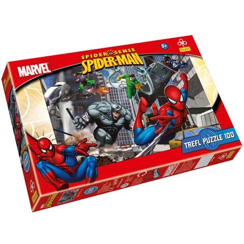 Puzzle Spiderman Marvel, 100 pcs