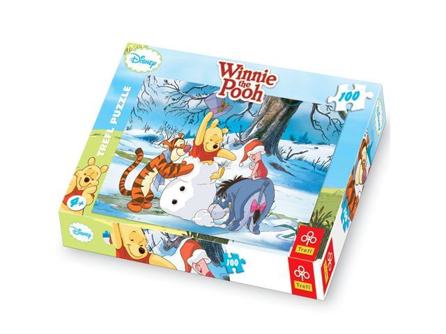 Puzzle Winnie the Poohin zapada, 100 pcs