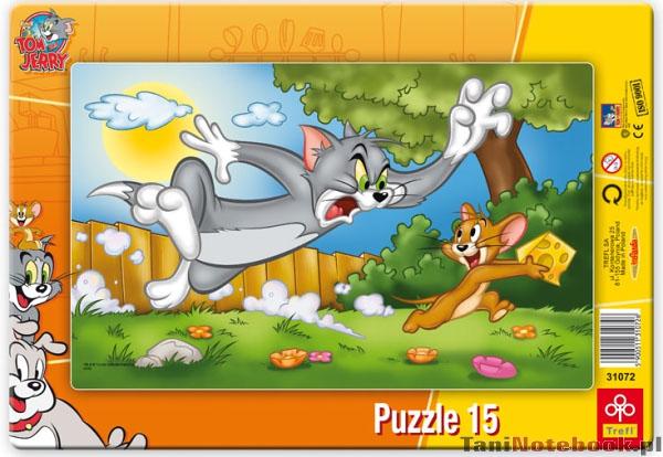 Puzzle Tom si Jerry, 15 pcs
