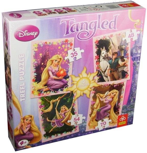 Puzzle Rapunzel 4 in 1