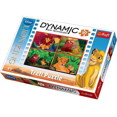 Dynamic Puzzle Regele Leu