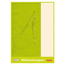 Hartie milimetrica,A3,20file