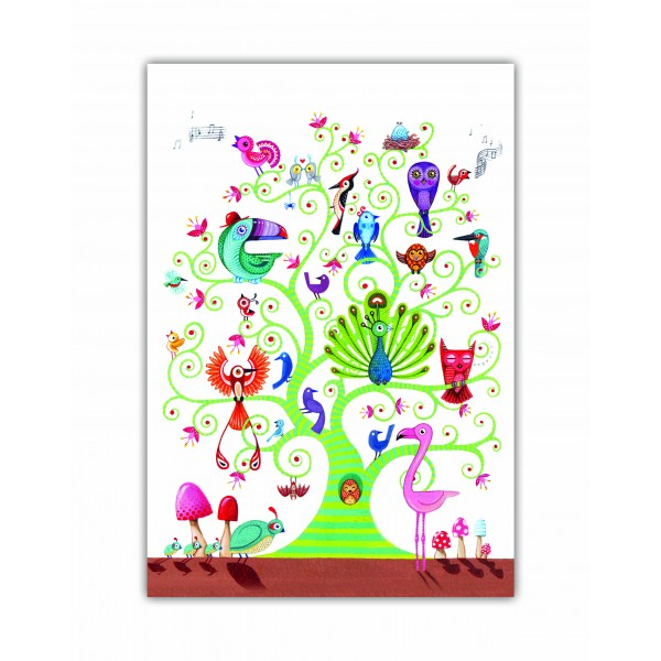 Caiet A5 cusut Tree of Life