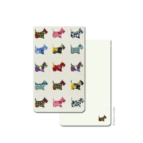 Carnet buzunar Scottie Dogs