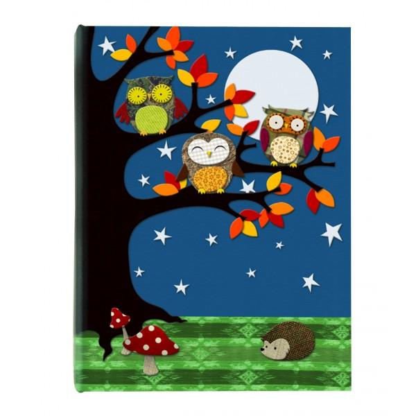 Carnet cu oglinda Owls