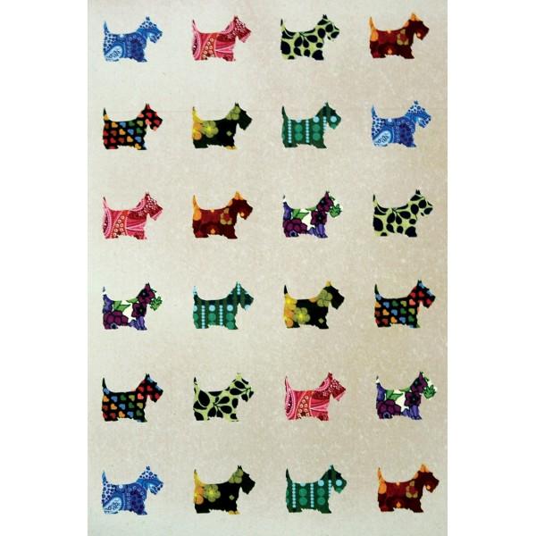 Caiet A5 cusut Scottie Dogs
