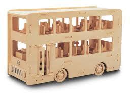 Puzzle 3D Autobuz londonez