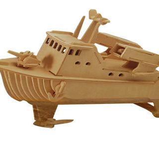 Puzzle 3D Nava Distrugatoare