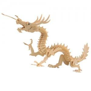 Puzzle 3D Dragon