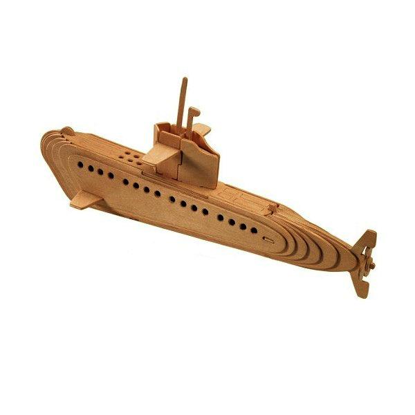 Puzzle 3D Submarin