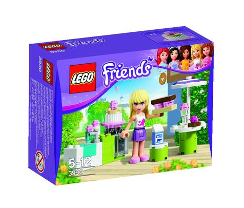 zzLego Friends Cofetarie in aer liber