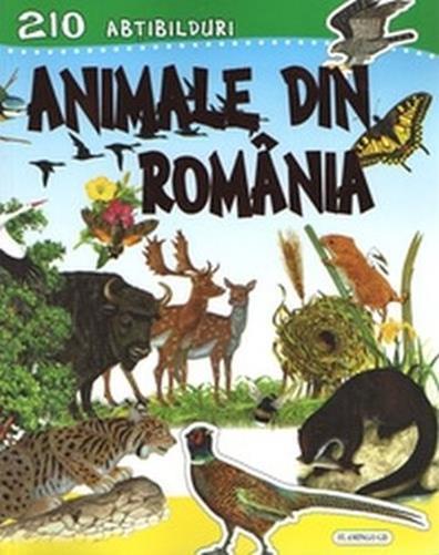 ANIMALE DIN ROMANIA - CU ABTIBILDURI