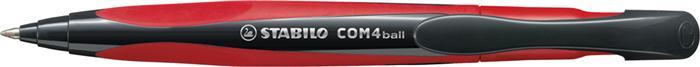 Pix Stabilo COM4ball rosu,cu mecanism