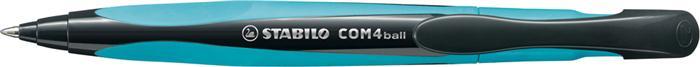 Pix Stabilo COM4ball albastru,cu mecanism