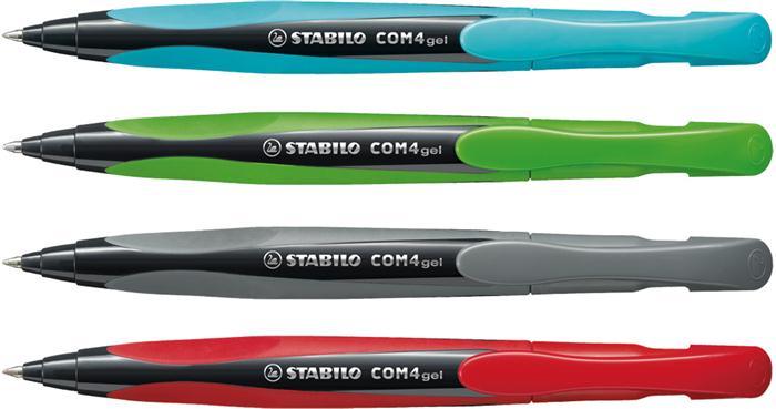 Roller Stabilo COM4gel albastru