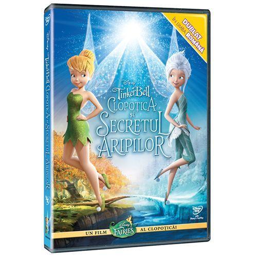 TINKERBELL 4: CLOPOTICA SI SECRETUL DVD