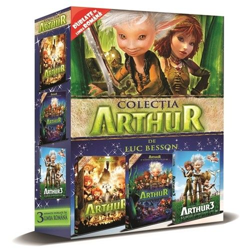ARTHUR 1&2&3 - BOX 3 DVD