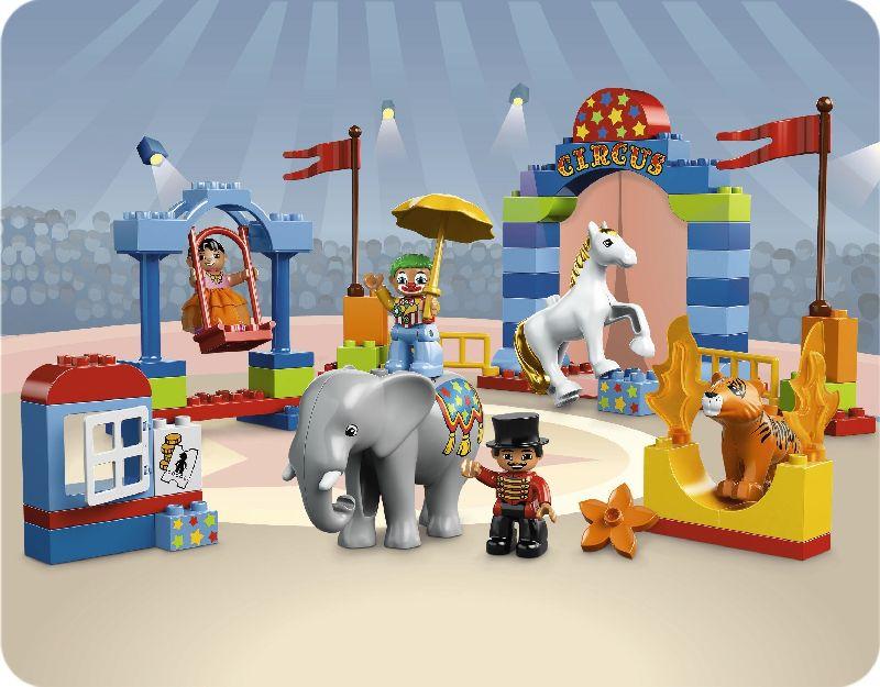 Lego Duplo Circul mare