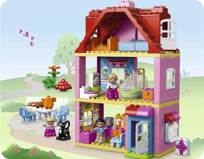 Lego Duplo Casa in care sa ne jucam