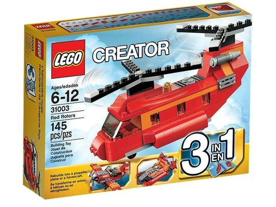 Lego Creator Rotoare rosii