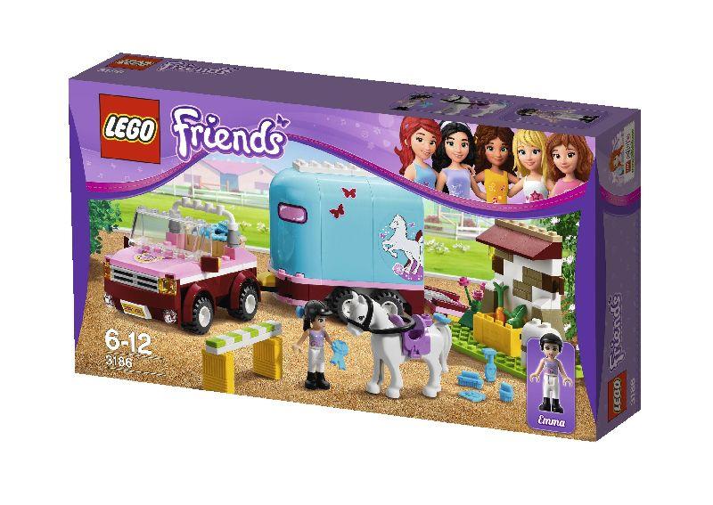 Lego Friends Masina de transportat cai