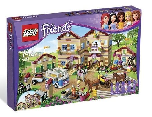 Lego Friends Tabara de vara de calarie