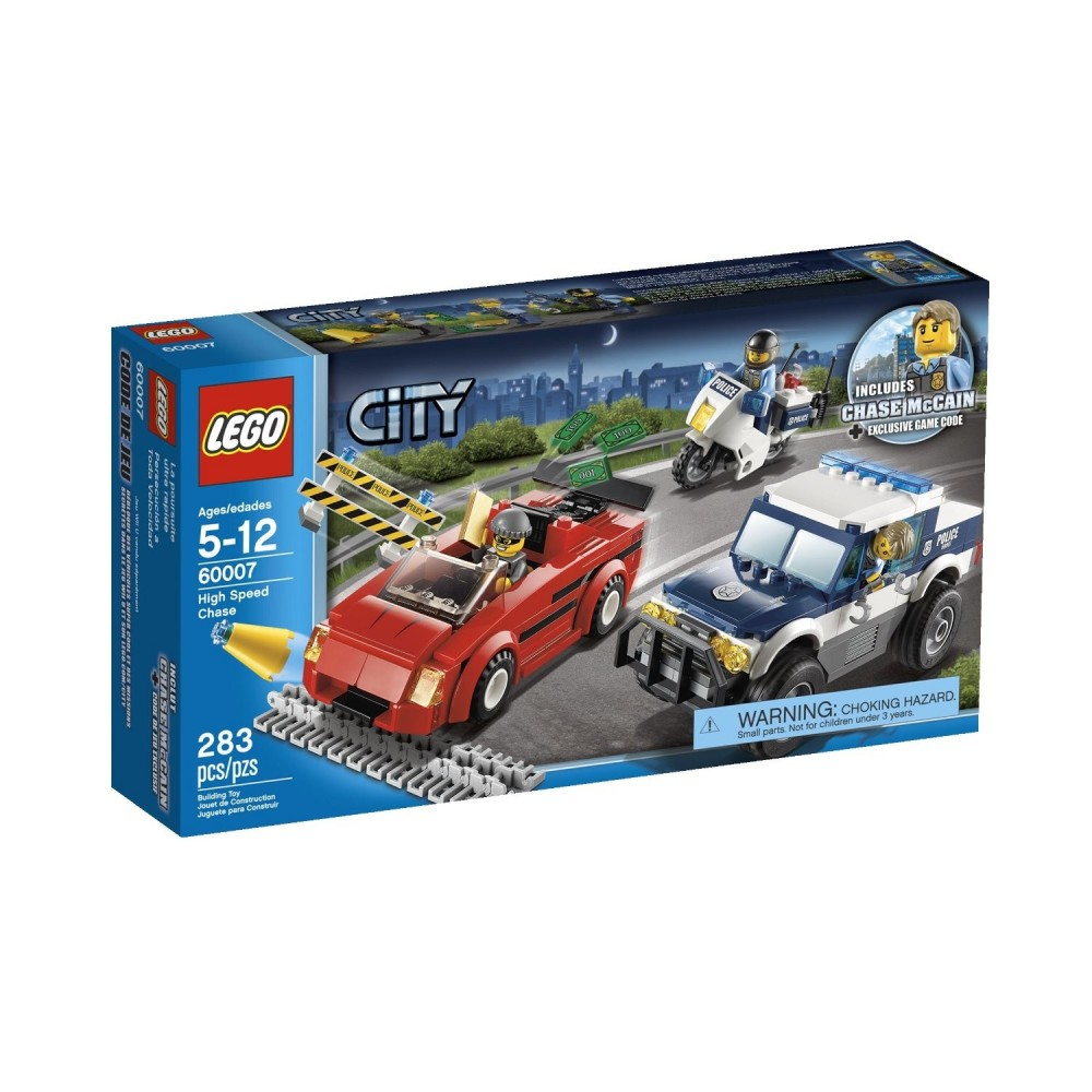 Lego City Urmarire in mare viteza