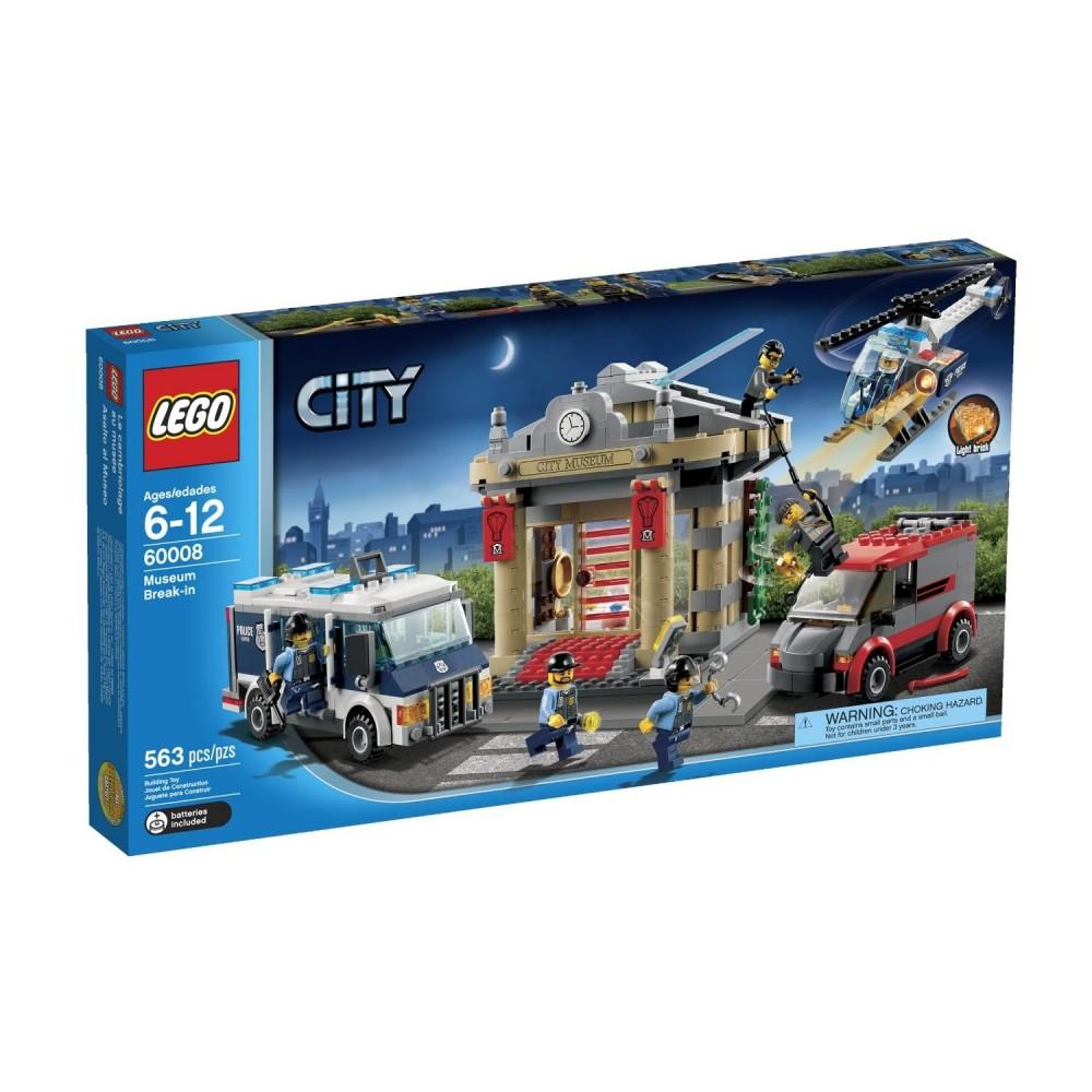 Lego City Asaltul muzeului