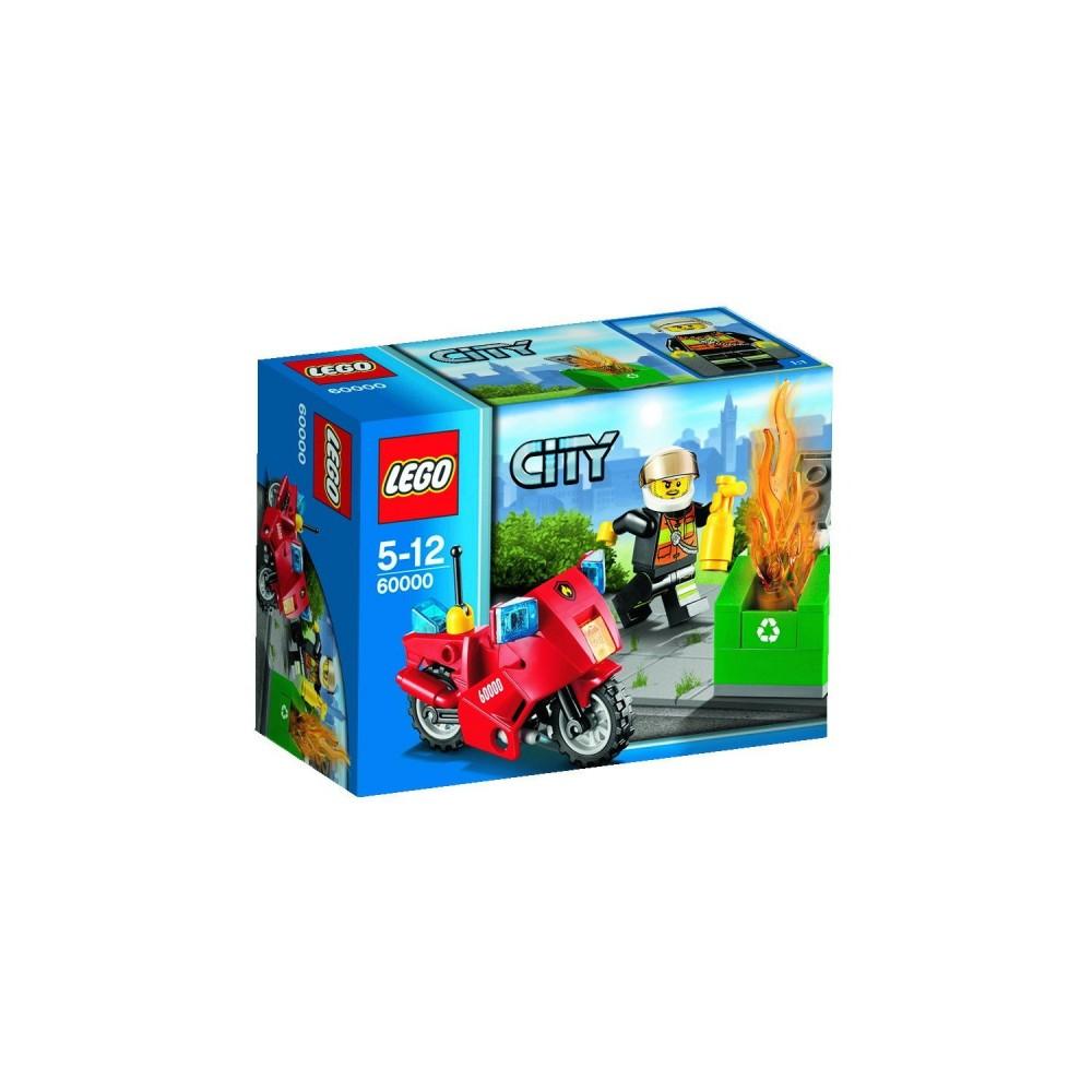 Lego City Motocicleta de pompieri