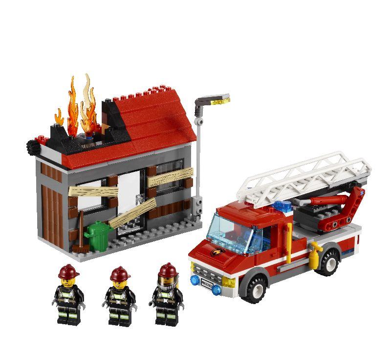 Lego City Alarma de incendiu