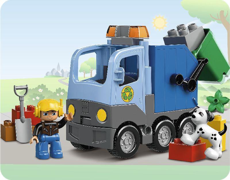 Lego Duplo Masina de gunoi