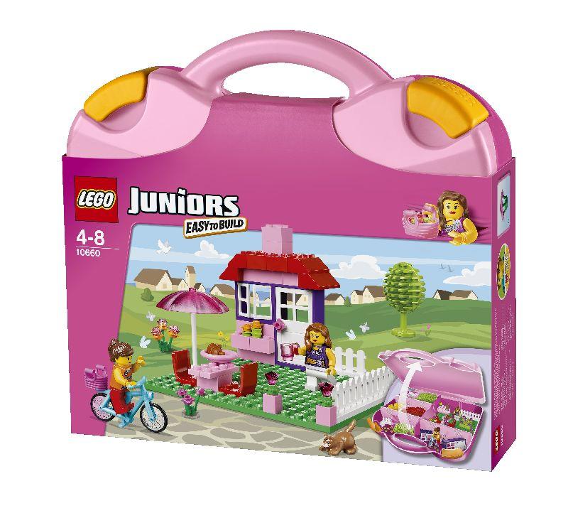 Lego Valiza roz