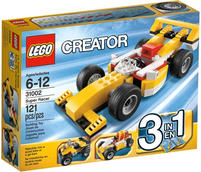 Lego Creator Supermasina de curse