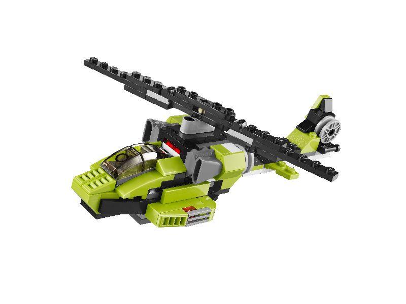Lego Creator Robot care se transforma