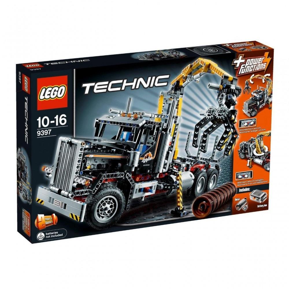 Lego Technic Camion de transportat busteni
